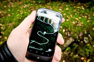 Geocaching-audioguide